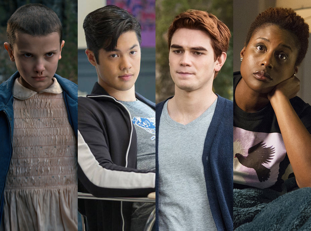 Breakout Stars, Millie Bobby Brown, Ross Butler, KJ Apa, Issa Rae, TV scoop awards