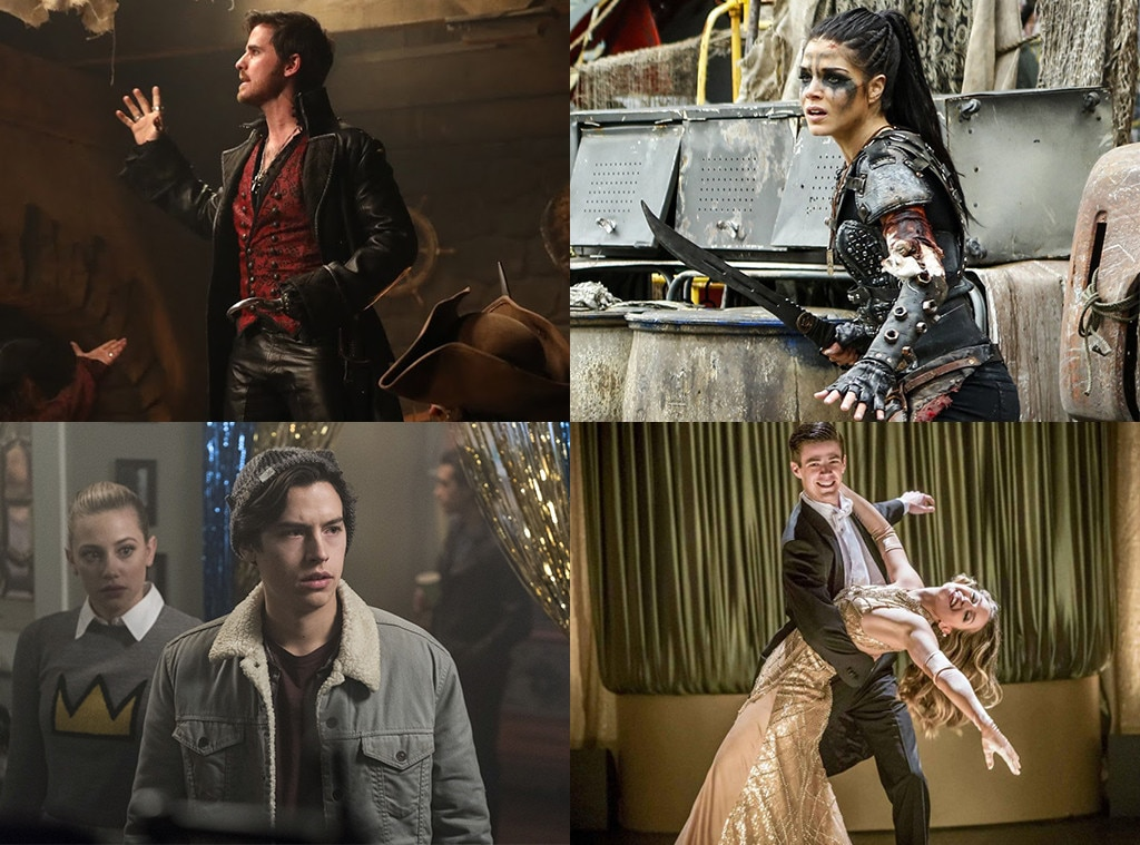 Best Fight or Musical, Once Upon A Time, The 100, Riverdale, The Flash, TV scoop awards