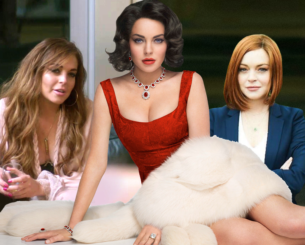 Lindsay Lohan, The Canyons, Liz and Dick, Sick Note