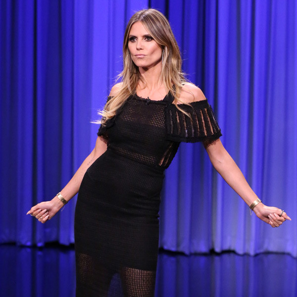 Heidi Klum, The Tonight Show Starring Jimmy Fallon