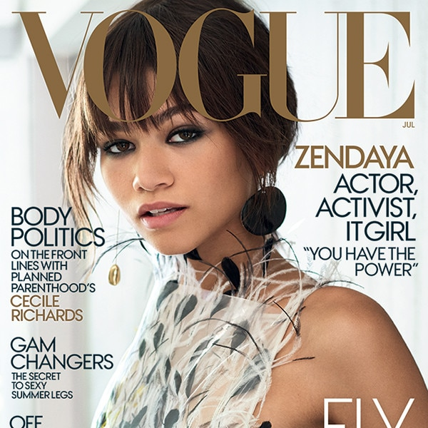 Zendaya Lands First 'Vogue' Cover: 'I Really Don't Have Any Words'