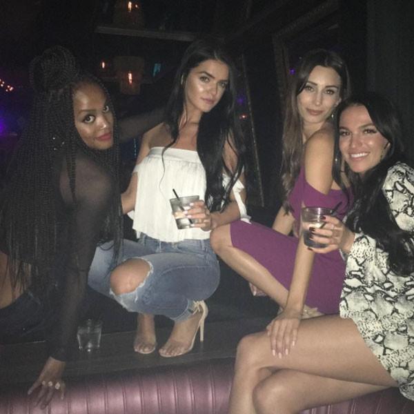 Raven Gates, Rachel Lindsay, Clubbing