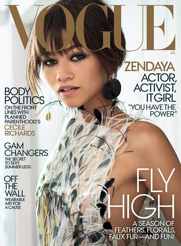 Zendaya, Vogue Magazine, July 2017 Issue
