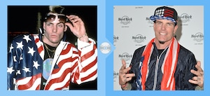 '90s Musicians, Then and Now, Vanilla Ice