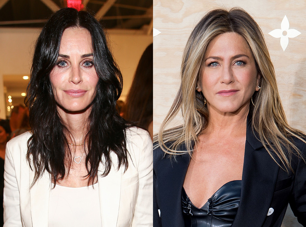 courteney cox and jennifer aniston relationship