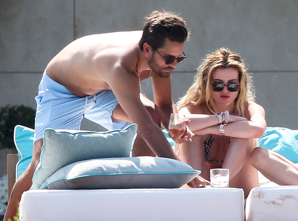 Scott Disick, Bella Thorne, Cannes