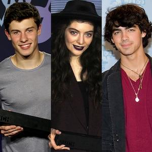 Shawn Mendes, Lorde, Joe Jonas, Much Music