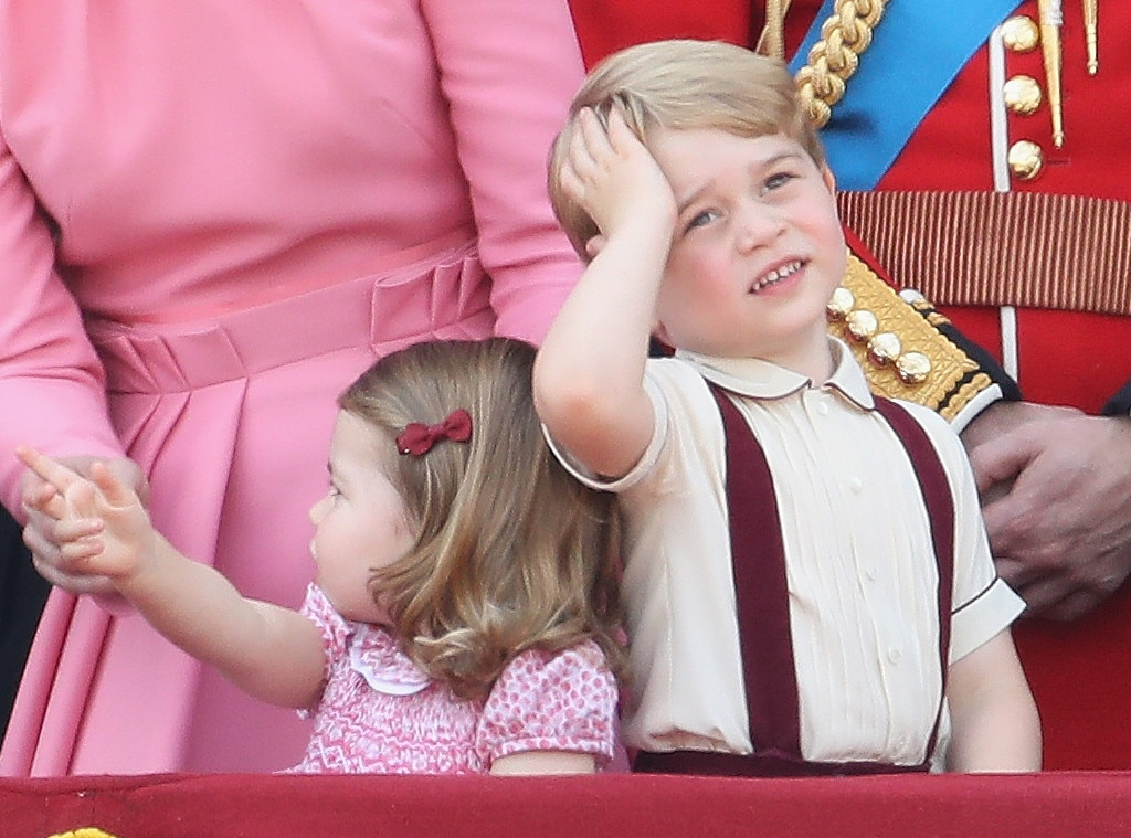 Prince George, Trooping the Colour 2017