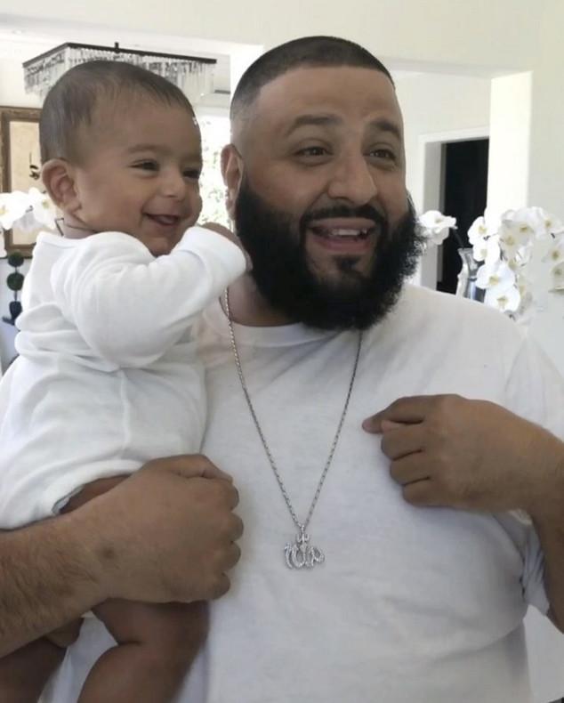 DJ Khaled, Son, Asahd, Father's Day 2017