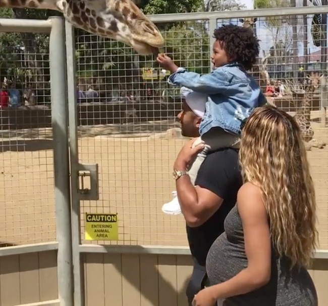 Ciara, Russell Wilson and Future Zahir from Stars' Cute ...