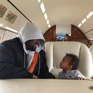 Kanye West, North West, Throwback, Father's Day 2017