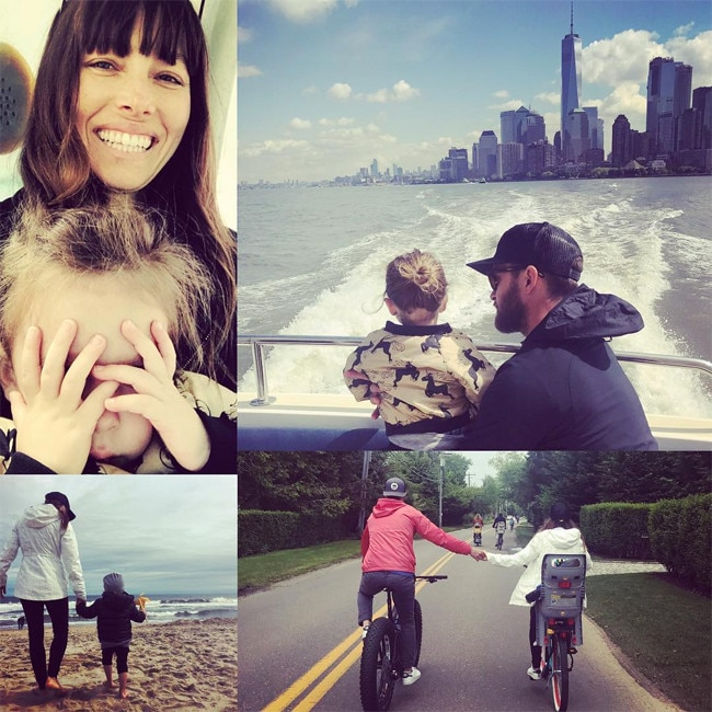 Jessica Biel, Justin Timberlake, Son, Silas, Father's Day 2017