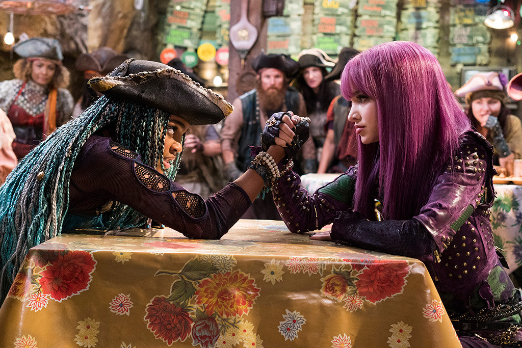 Descendants 2, Dove Cameron, China Anne McClain