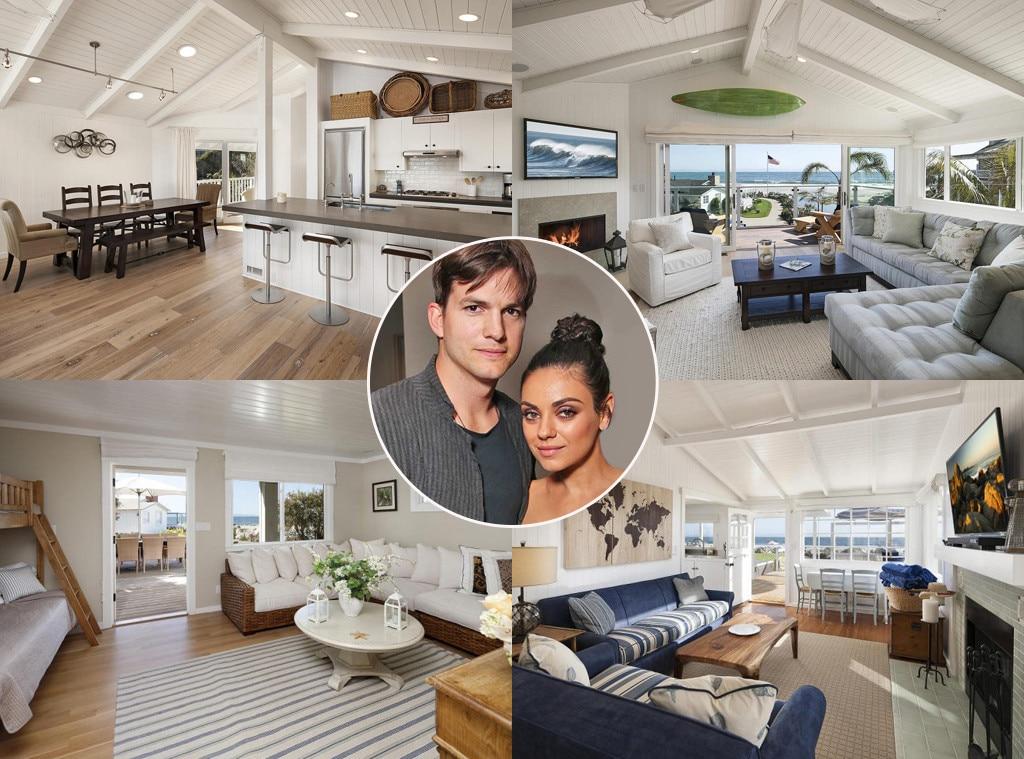 Mila Kunis, Ashton Kutcher, Home