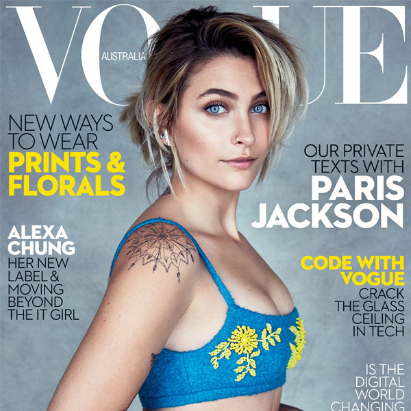 Paris Jackson, Vogue Australia