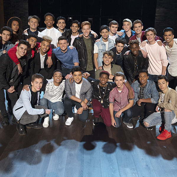 All the Contestants on <i>Boy Band</i>