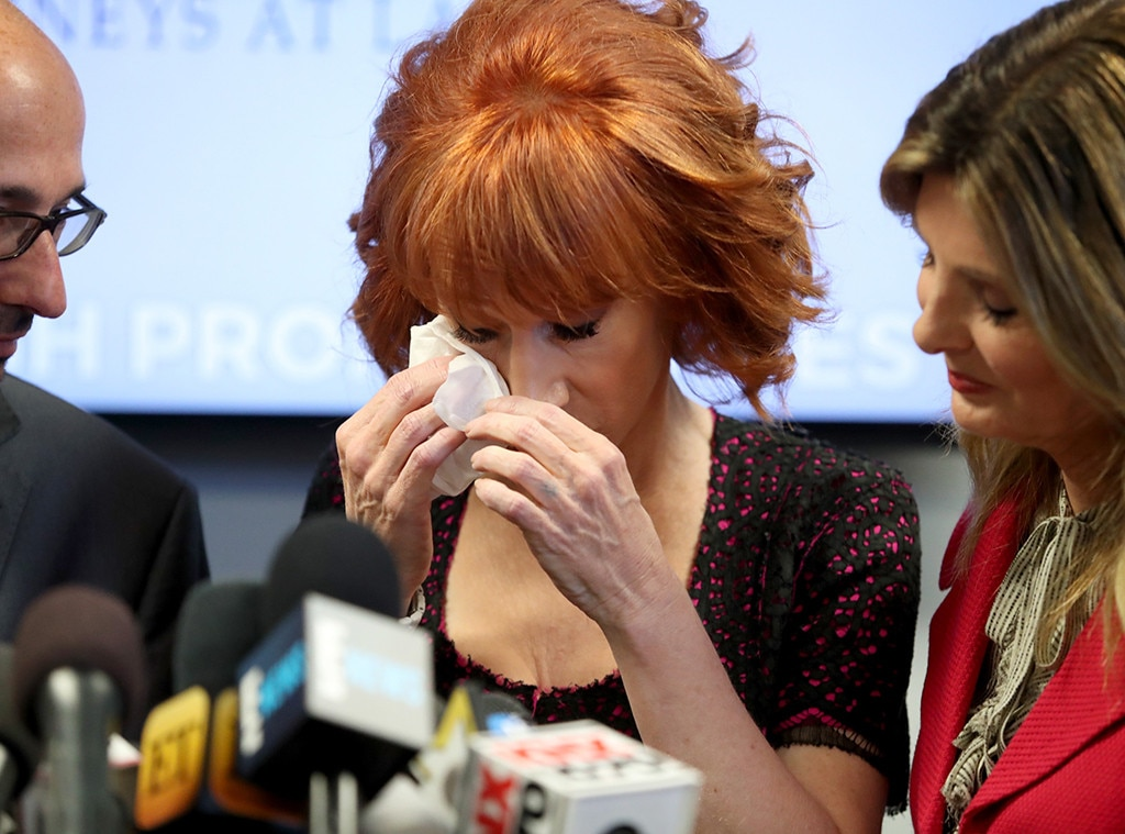 Kathy Griffin Says She Feels Attacked by Trump, Blames Sexism
