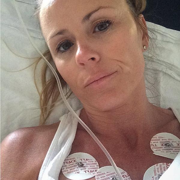 Trista Sutter, Instagram, Hospital