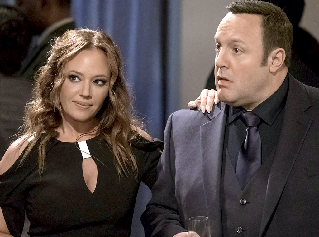 Leah Remini, Kevin James, Kevin Can Wait