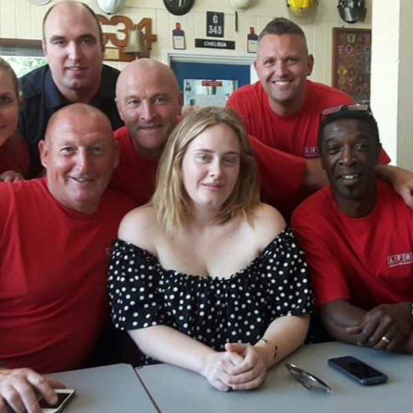 Adele, London Fire Brigade
