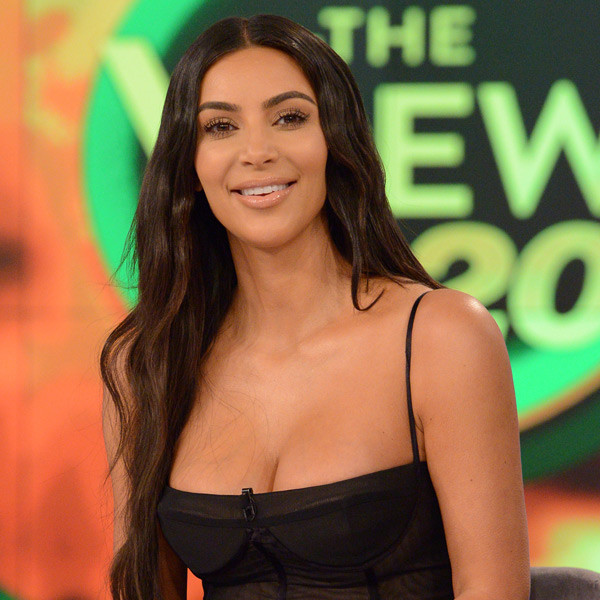 Kim Kardashian, The View