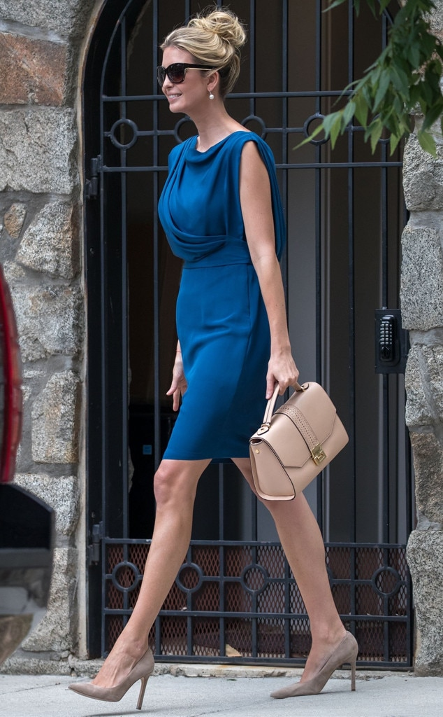 True Blue From Ivanka Trump S Best Looks E News