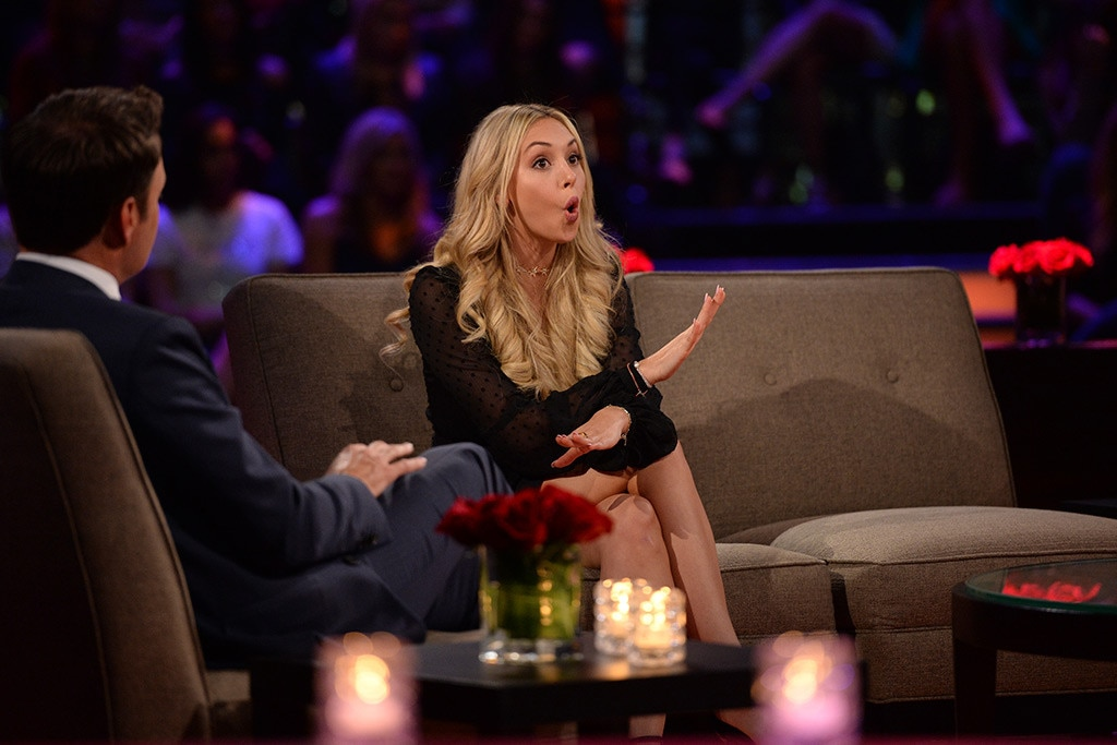 Corinne Olympios, The Bachelor, Women Tell All