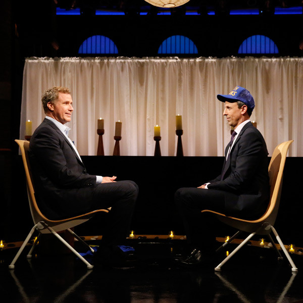 Will Ferrell, Seth Meyers, Late Night