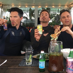 Benedict Cumberbatch, Robert Downey Jr., Mark Ruffalo, Benedict Wong