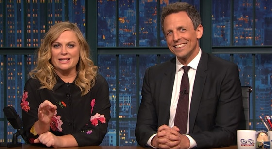 Seth Meyers, Amy Poehler resurrect 'Really!?!' to skewer pro-Trump protesters