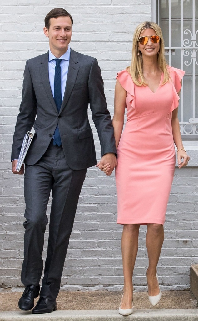 Cool In Coral From Ivanka Trump S Best Looks E News