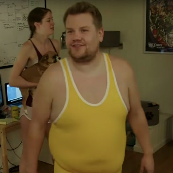 James Corden, Late Late Show, Wrestling