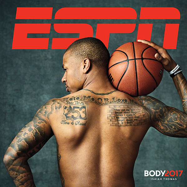 Isaiah Thomas Bares His Booty for <i>ESPN The Magazine</i>'s Annual BODY Issue