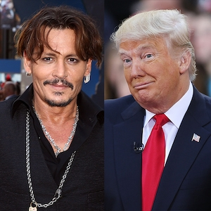 Johnny Depp, Donald Trump