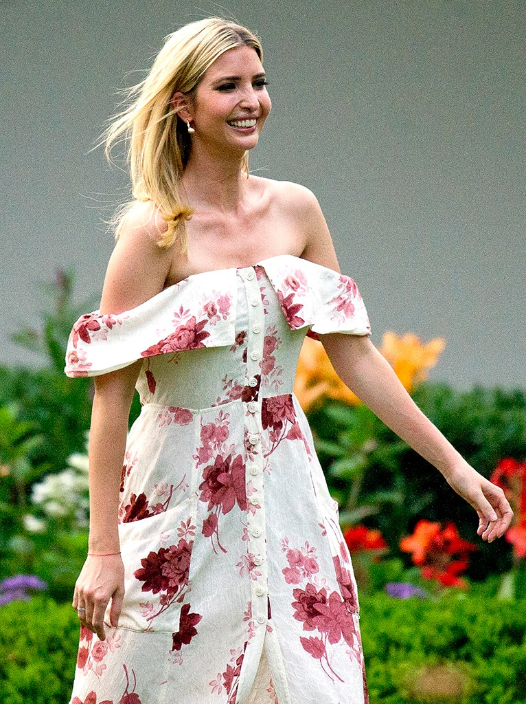 Fab In Florals From Ivanka Trump S Best Looks E News