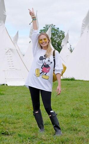 Margot Robbie, Glastonbury Festival
