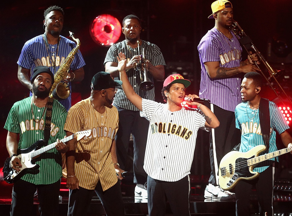 Bruno Mars Goes For The Gold With His Magic 2017 BET Awards Performance