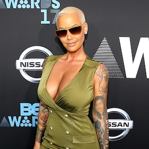 Amber Rose, 2017 BET Awards, Arrivals