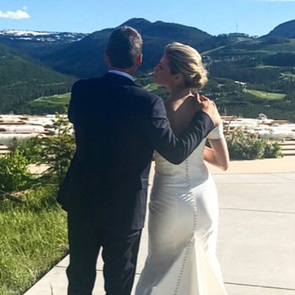Erin Andrews, Jarret Stoll, Wedding, Instagram