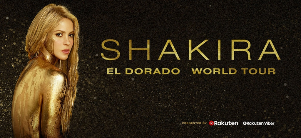 Shakira, El Dorado World Tour