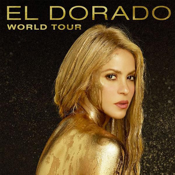 Shakira Announces El Dorado World Tour Dates E News Uk