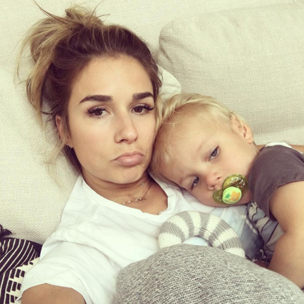 Jessie James Decker, Eric Decker Jr., Instagram
