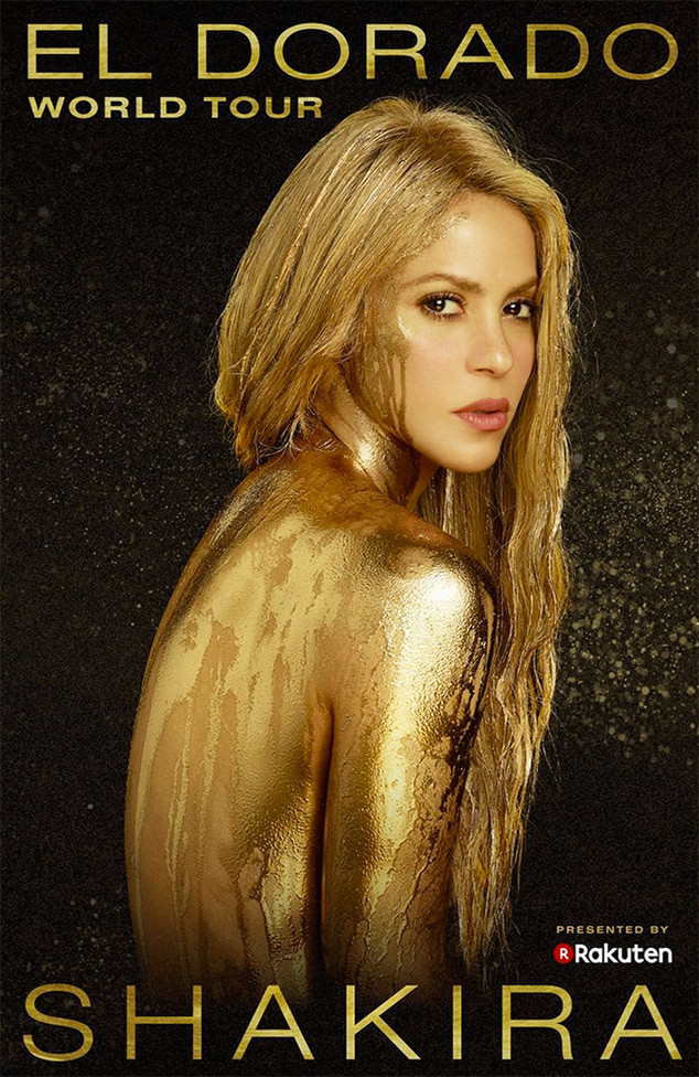 Shakira, El Dorado World Tour