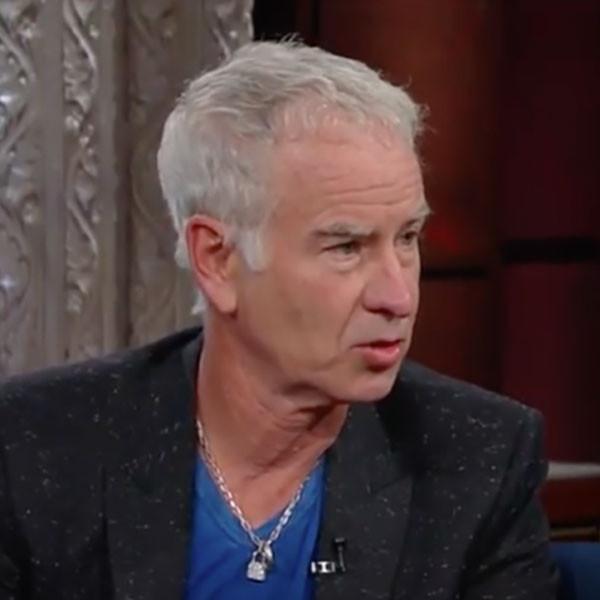 John McEnroe, The Late Show