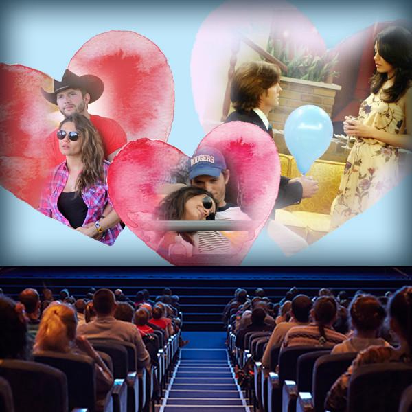 Mila Kunis and Ashton Kutcher's Love Story Is a Real-Life Rom-Com