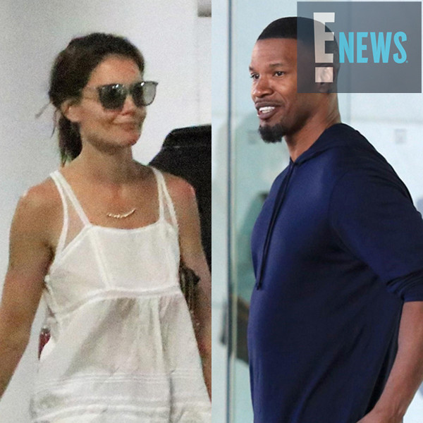 Katie Holmes and Jamie Foxx Spotted in Los Angeles Exactly ... Katie Holmes Jamie Foxx