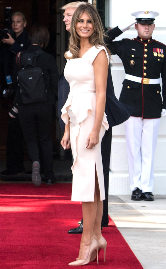 Melania Trump Travels in Style With Donald Trump to Poland ...
