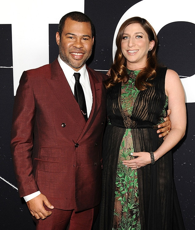 Jordan Peele and Chelsea Peretti welcome baby boy