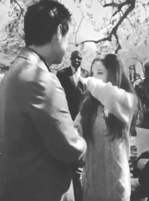 Ariana Grande, Jim Carrey, Celebrities Fangirling