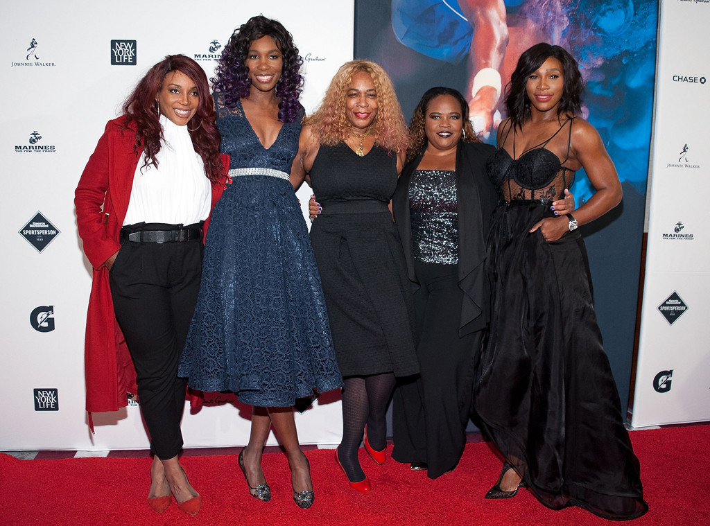 Lyndrea Price, Venus Williams, Oracene Price, Isha Price, Serena Williams